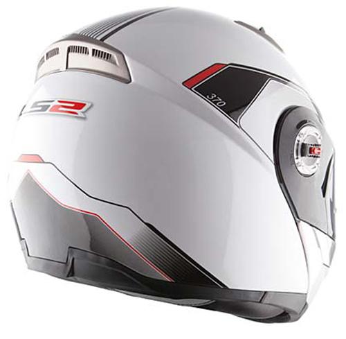 Modular helmet LS2 FF370 Black Shadow