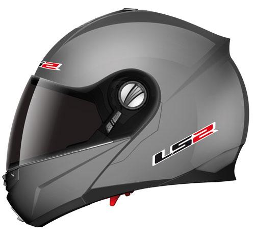 LS2 ff386.1 Ride openface helmet gloss titanium*