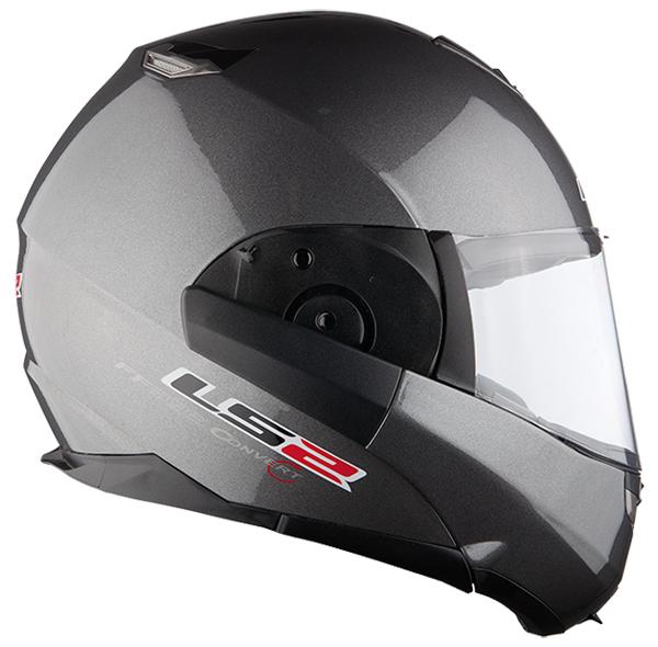Modular helmet LS2 FF393 Convert opaque Titanium