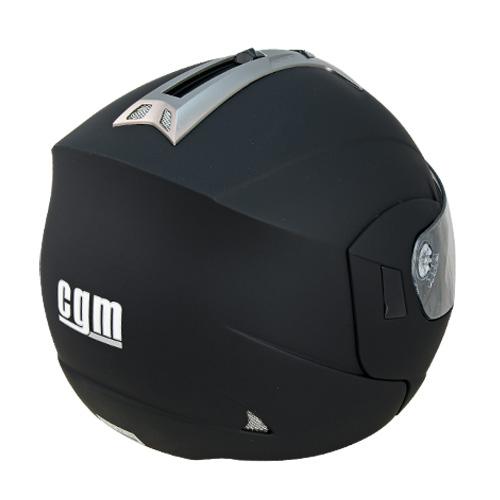 CGM THUNDERBOLT flip off helmet BlackRubberised