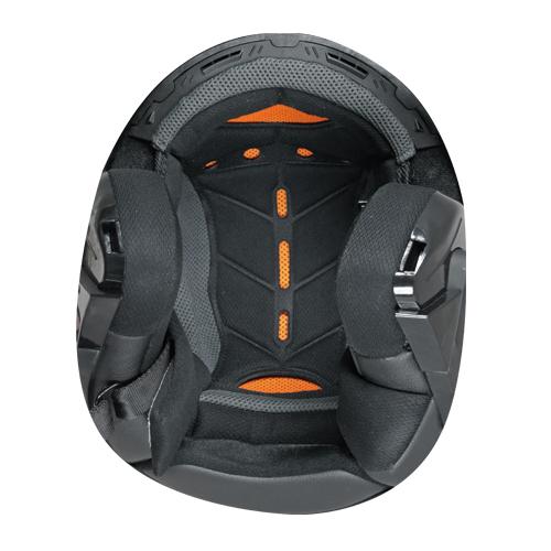 Helmet Modular CGM Singapore 505A double omologation Black