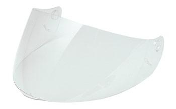 Short visor light smoke Scorpion Exo 100