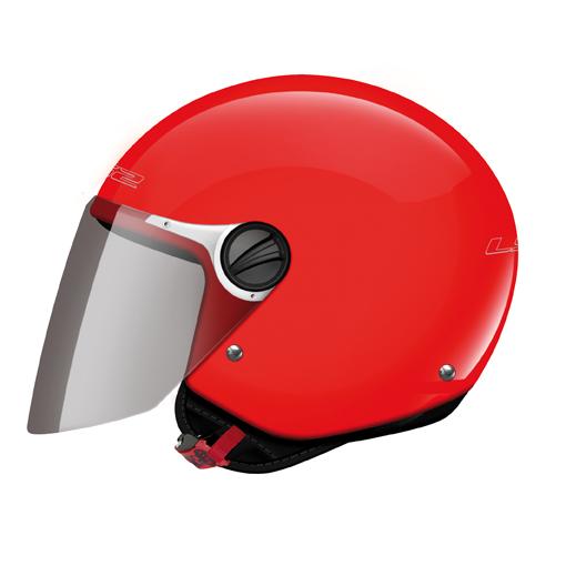 LS2 OF575 Wuby Junior kid jet helmet Red