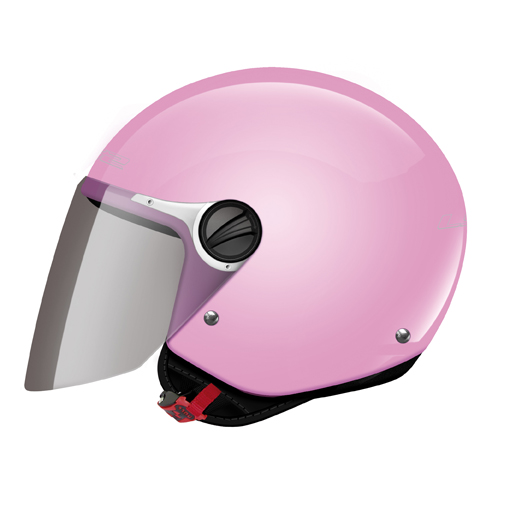 LS2 OF575 Wuby Junior kid jet helmet Pink