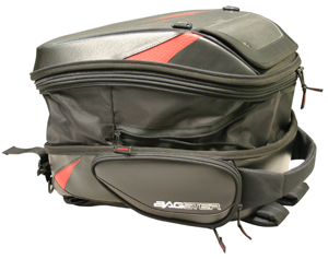 Bagster Tank Bag Rider Black / Red