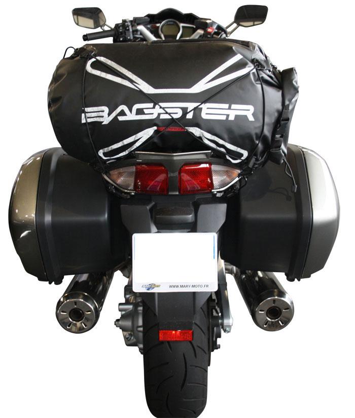Saddle bag Bagster Everglade 30 liters Black
