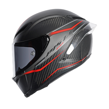 AGV Pista GP Gran Premio full face helmet Red Carbon