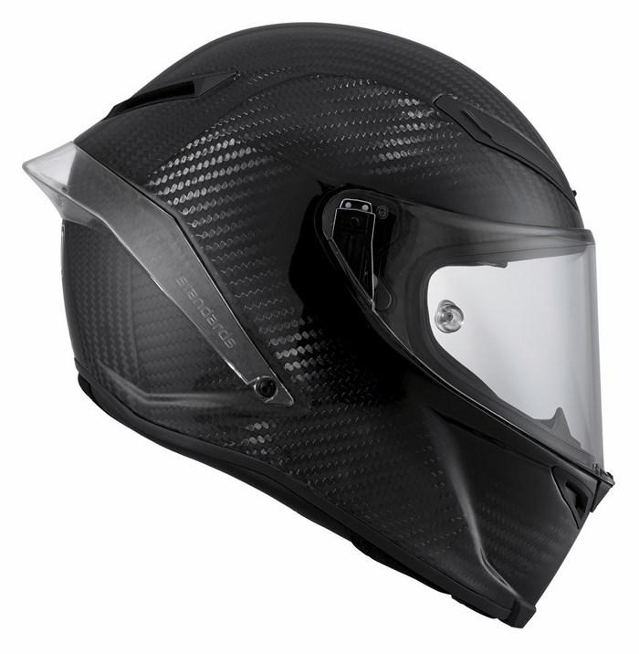 Casco moto Agv Race Pista GP Mono Carbon