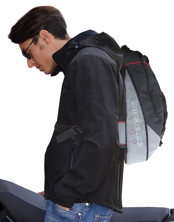 Zaino Jollisport Backpack Nero Avana