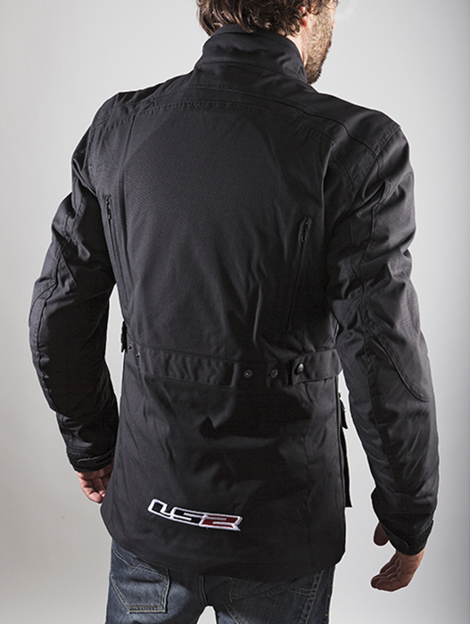 LS2 Motorcycle Jacket Black Earth