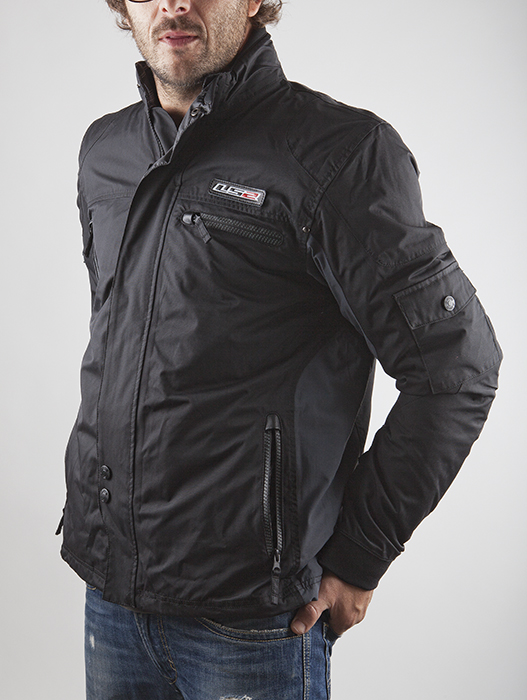 LS2 Motorcycle Jacket Urban Black