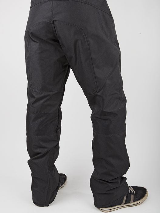 LS2 Motorcycle Pants Black Challenge