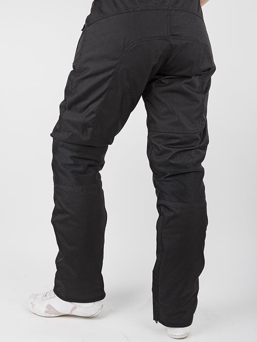 Pantaloni moto donna LS2 Challenge Nero