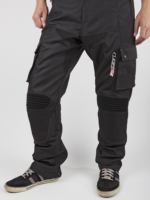 Pantaloni moto LS2 Street Nero