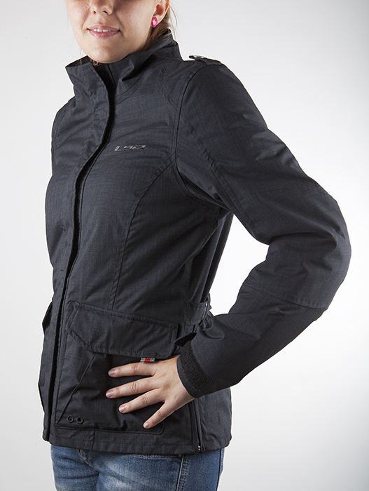 Motorcycle jacket woman LS2 Monaco Black
