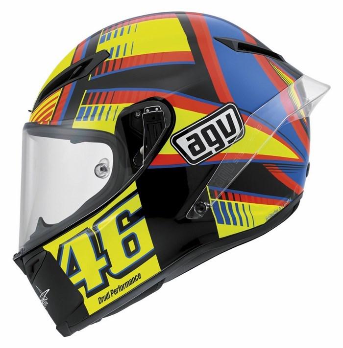 Casco moto Agv Race Corsa Top SOLELUNA