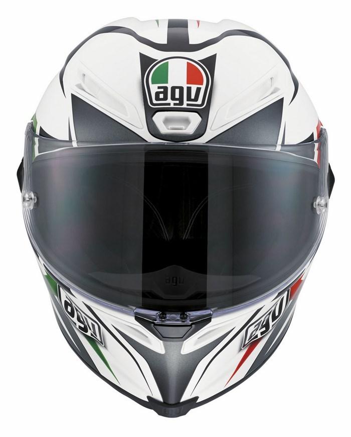 Casco moto Agv Race Corsa Multi Velocity Italy