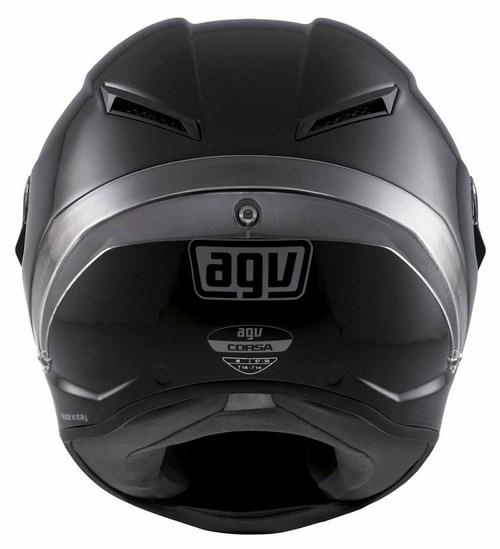 Casco moto Agv Corsa Mono nero