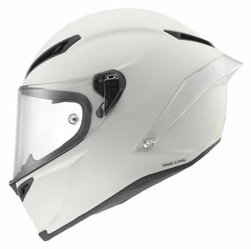 Casco moto Agv Corsa Mono Primer bianco