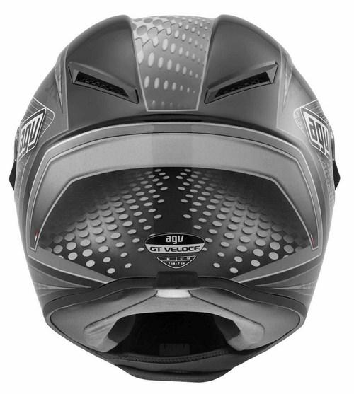 Casco moto Agv GT Veloce Multi Cyborg nero-grigio