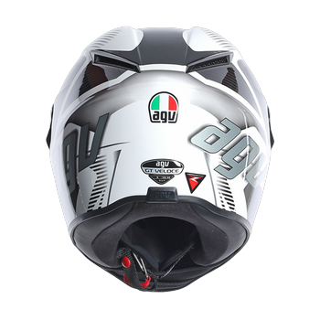 AGV GT Veloce TXT full face helmet White Black