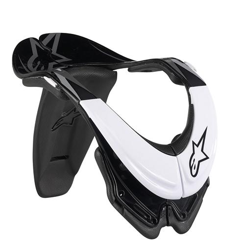 Alpinestars Bionic neck support SB (BNS) white-black