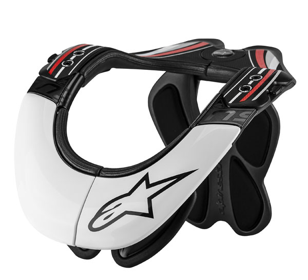 Neck Support Alpinestars BNS Pro Black Red White