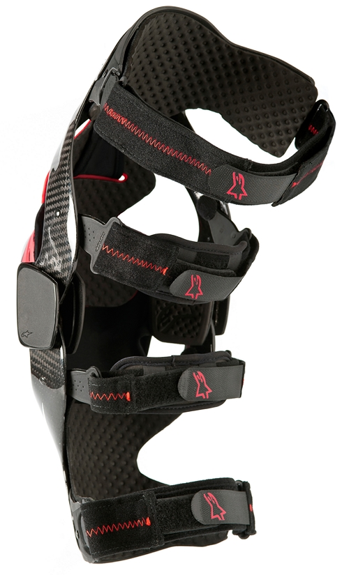 Alpinestars Carbon B2 knee brace black right