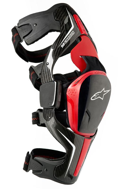Alpinestars Carbon B2 knee brace black left