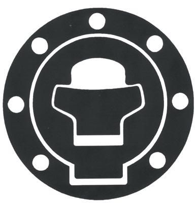 Adhesive resin tank protector cap Suzuki Progrip Carbon