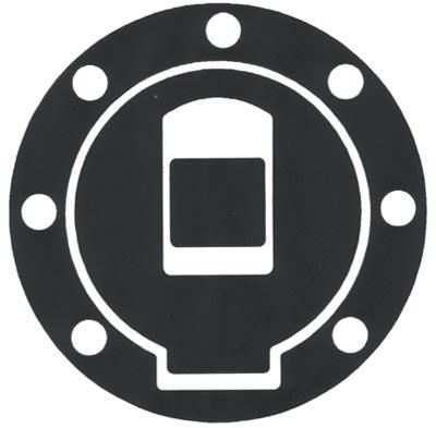 Sticker Resin Yamaha Progrip tank protector cap Carboni
