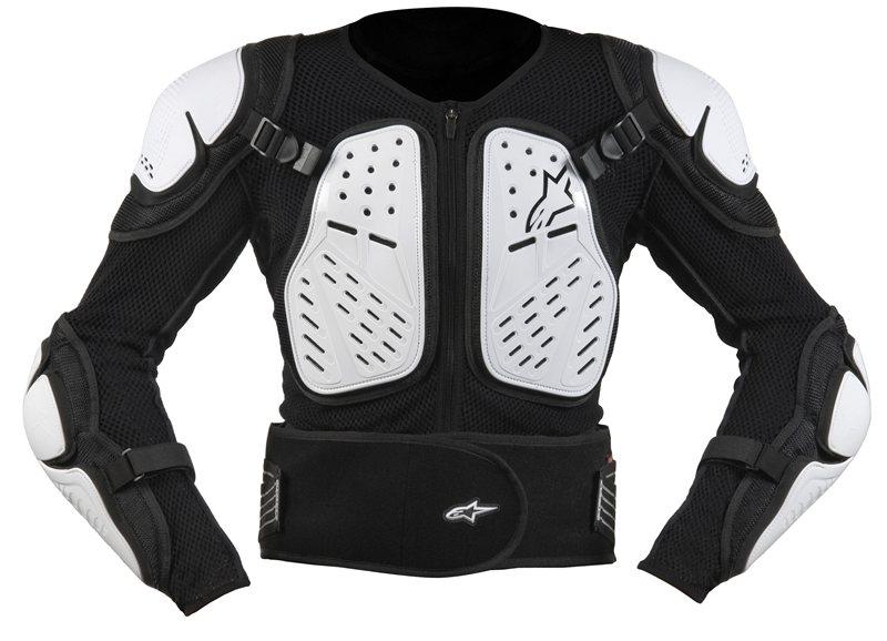 Alpinestars Bionic 2 protection jacket black white