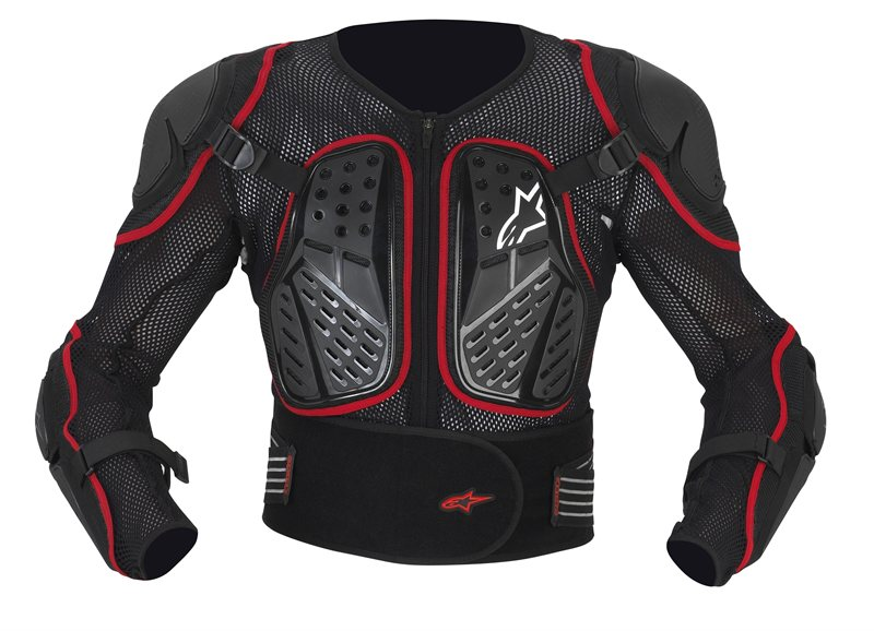 Alpinestars Bionic 2 protection jacket black red