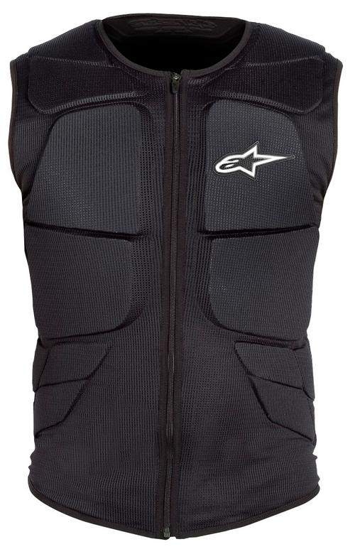 Alpinestars Track Protection vest black-white