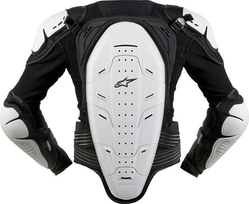 Pettorina prot. bambino Alpinestars Youth Bionic 2 nero-bianca