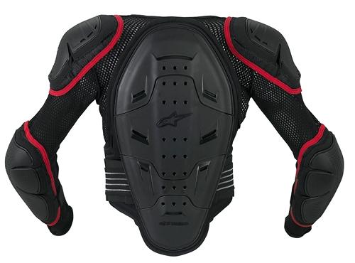 Alpinestars Youth Bionic 2 protection jacket black-red