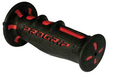 Scooter Gont Grips Progrip Dual Density Black Red