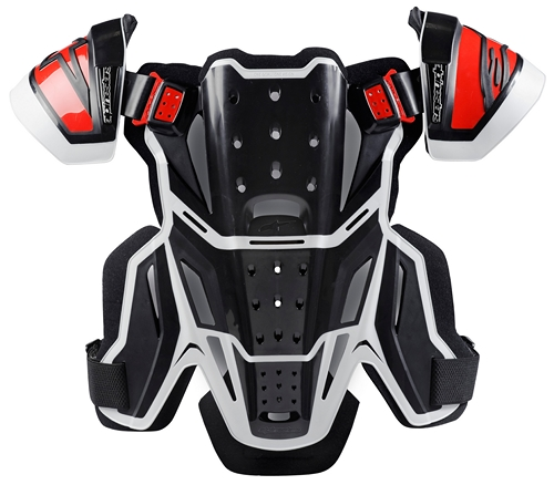 Alpinestars A-10 for BNS chest protector black.red
