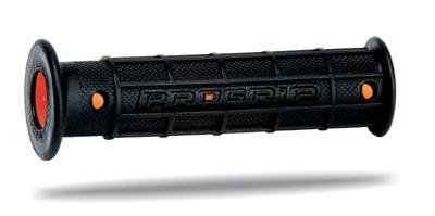 Jetsky ATV Progrip Grips Dual Density Black Orange
