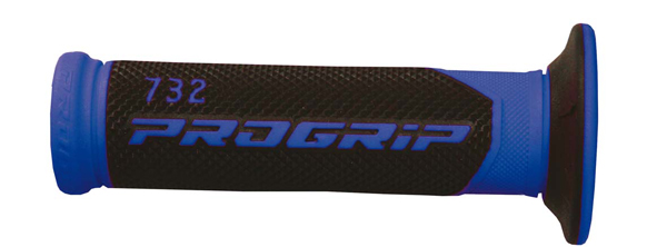 Perforated Progrip Black Blue Knob Road