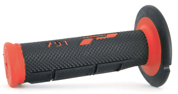 Progrip Grips Dual Density Black Red Cross
