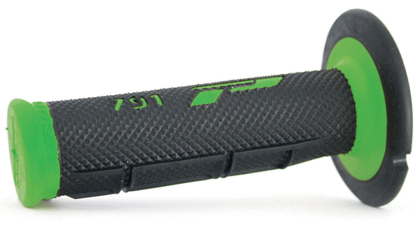 Manopole Progrip Cross Dual Density Nero Verde
