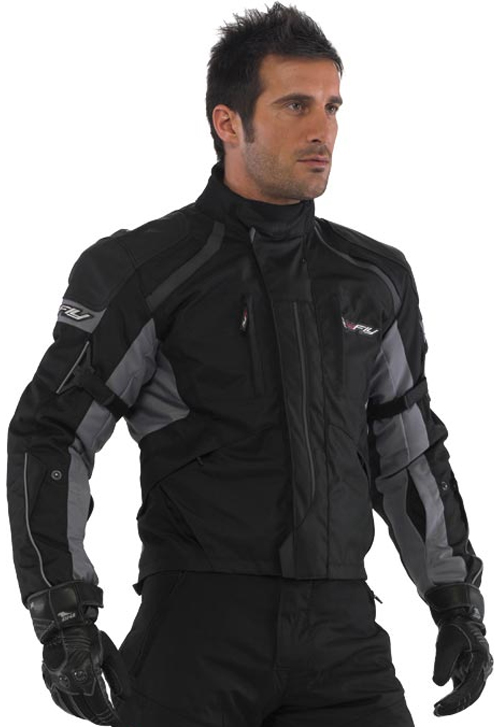 Hy Fly Stealth touring jacket Black Grey
