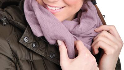 Tucano Urbano Knitted neckwarmer Sharpei 685 pink