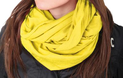 Tucano Urbano Knitted neckwarmer Sharpei 685 yellow