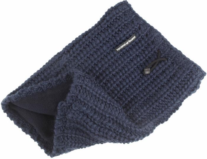 Tucano Urbano hat-neckwarmer Sharpei 695 blu