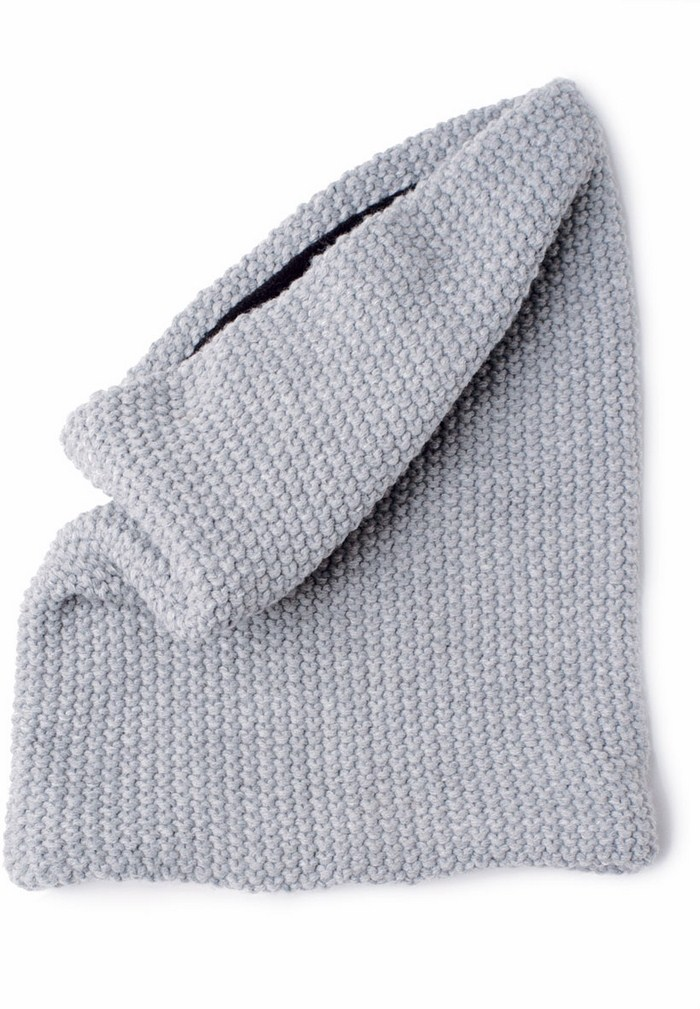 Tucano Urbano hat-neckwarmer Sharpei 695 light grey