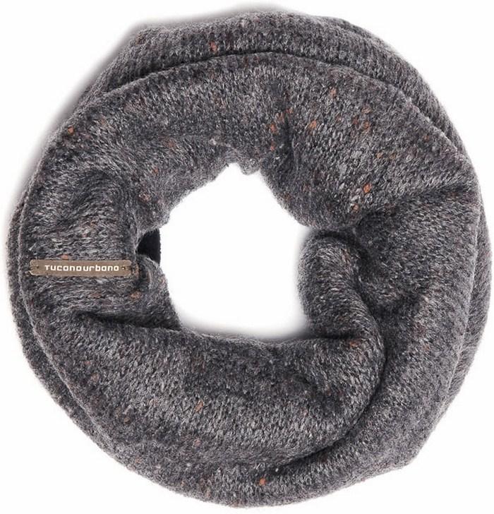 Tucano Urbano hat-neckwarmer Sharpei 695 melange grey