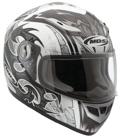 Casco moto Mds by Agv Multi Sprinter Age bianco-gunmetal