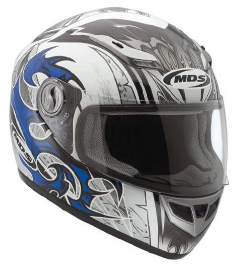 Mds by Agv Multi Sprinter Age full-face helmet white-blue